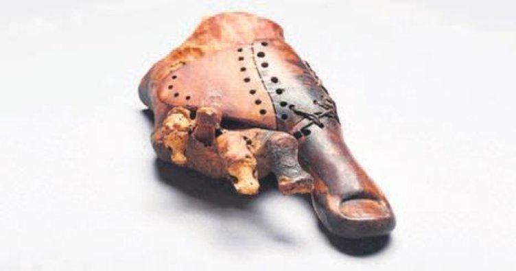 Tarihin en eski protezi bulundu