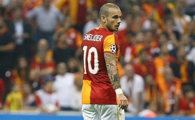 Sneijder'den flaş itiraf! Bu kadar yalnız...