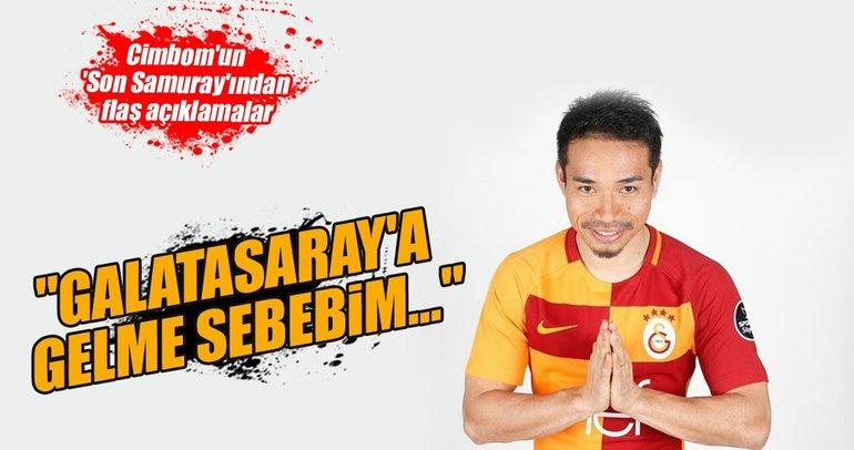 Nagatomo: Galatasaray'a gelme sebebim...