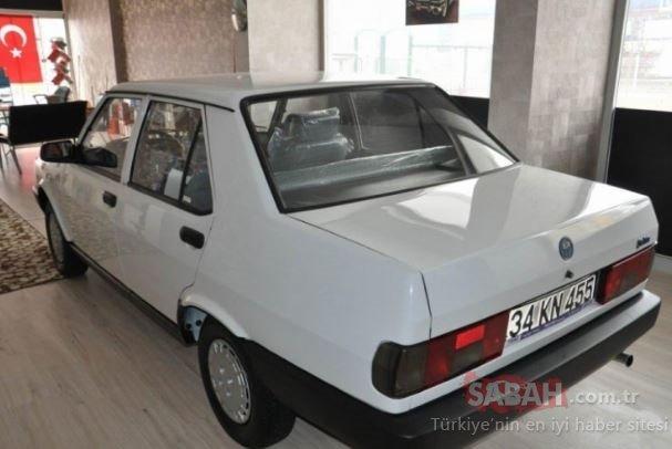 Çocukluk aşkı 1994 model beyaz Şahin hangardan çıktı! Fiyatı ise...