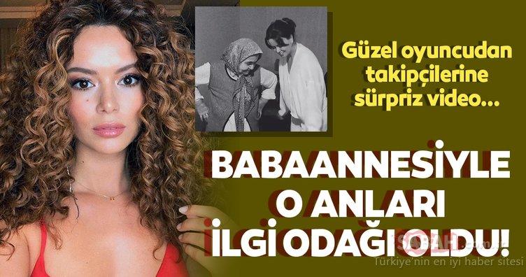 Seray Kaya ile babaannesinin dansına beğeni yağdı... Kuruluş Osman'ın Lena'sı Seray Kaya'dan sürpriz paylaşım!