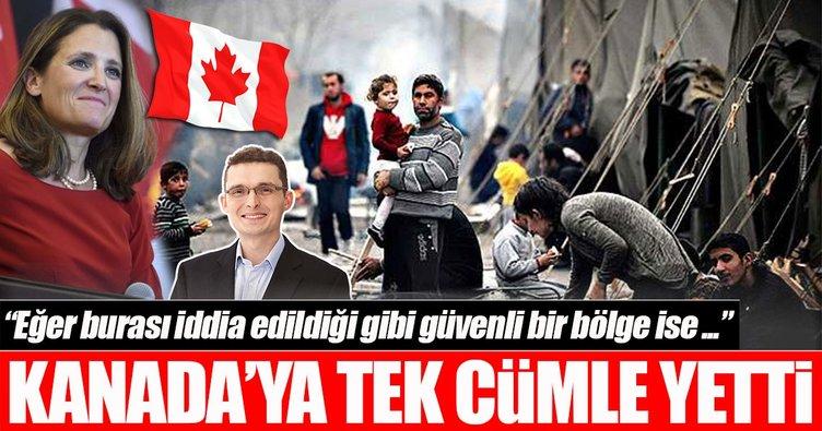Ottawa Büyükelçisi'nden Kanadalı vekile PYD/PKK cevabı