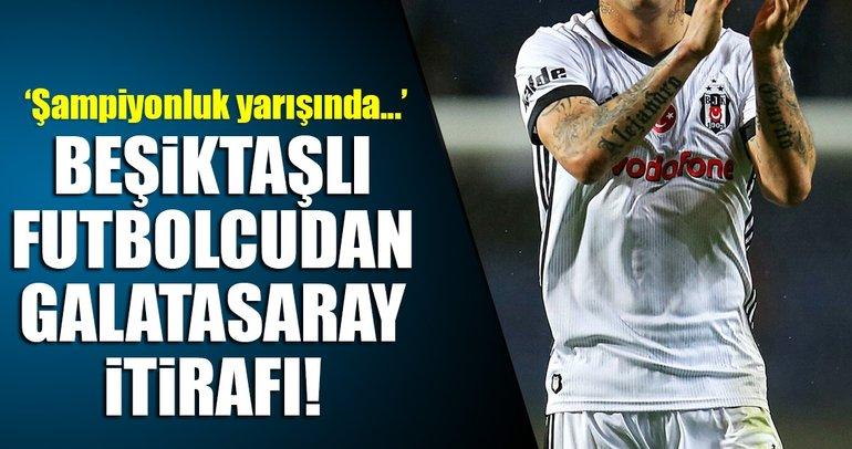 Beşiktaşlı Medel'den şampiyonluk ve Galatasaray itirafı!