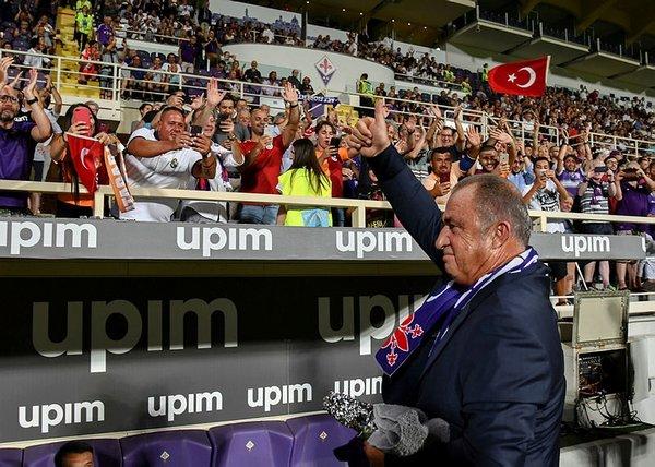 Fiorentina - Galatasaray maçında Fatih Terim rüzgarı