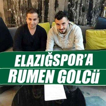 Elazığspor'a Rumen golcü