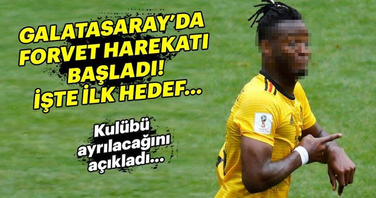 Galatasaray forvet için çalışmalarını hızlandırdı: Michy Batshuayi