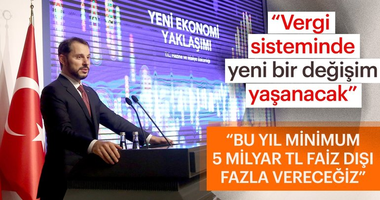 Hazine ve Maliye Bakanı Berat Albayrak 'Yeni Ekonomik Model'i açıkladı
