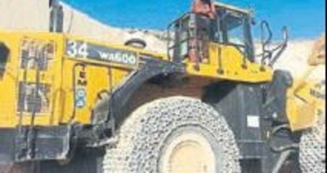Mermer ocağında kaza: 1 ölü