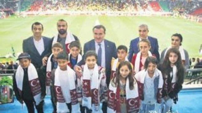 Diyarbakır'da özel misafirler