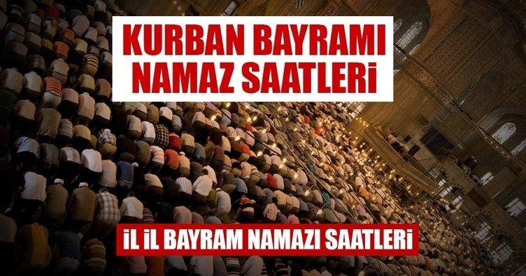 Kurban Bayrami Namazi Saat Kacta Kilinacak Istanbul Ankara