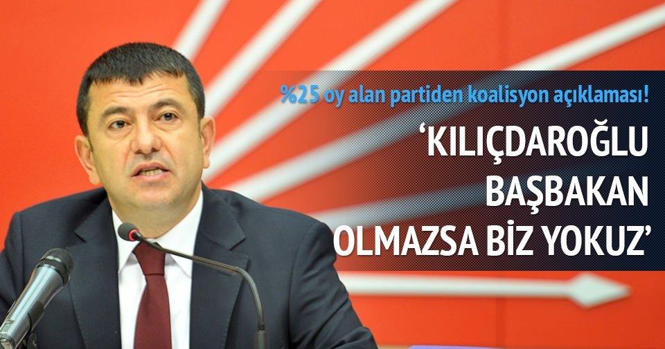 Kılıçdaroğlu Başbakan olmazsa biz yokuz