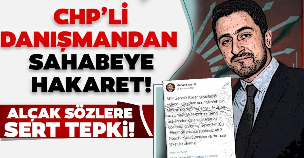 CHP Genel Merkezi danışmanlarından Mücahit Avcı'dan sahabe Mus'ab bin Umeyr'e hakaret! - - Son Dakika Haberler
