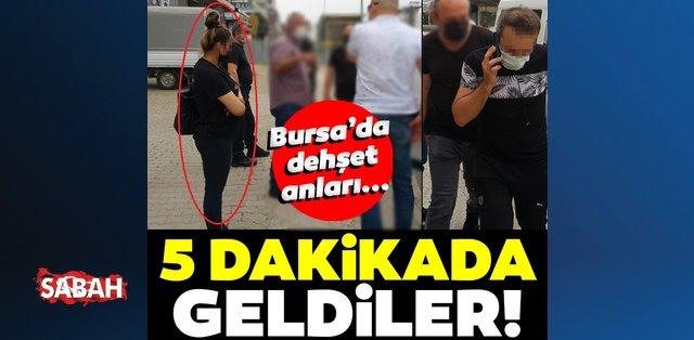 Bursa'da KADES butonu hayat kurtardı! 5 dakikada geldiler!