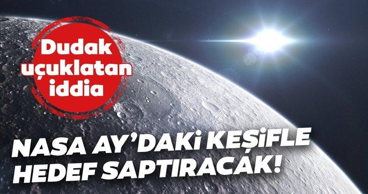 NASA Ay açıklamasıyla hedef saptıracak! Komplo...