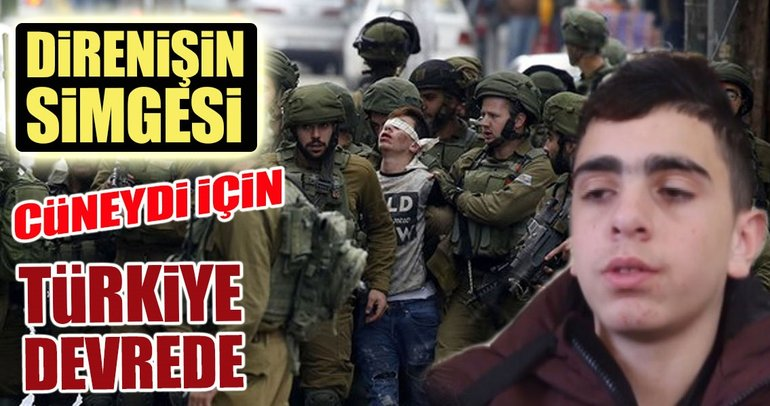 Direnişin simgesi için Türkiye devrede