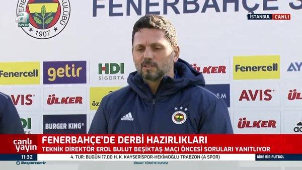 Fenerbahçe Teknik Direktörü Erol Bulut'tan Samatta açıklaması!