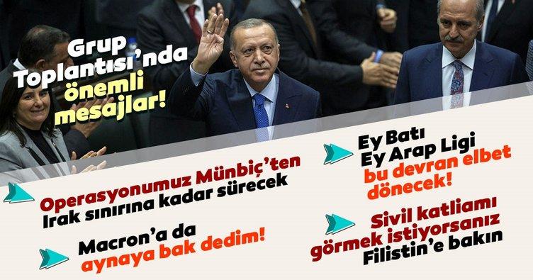 Başkan Erdoğan'dan son dakika harekat açıklaması: Operasyonumuz Münbiç'ten Irak sınırına kadar sürecek