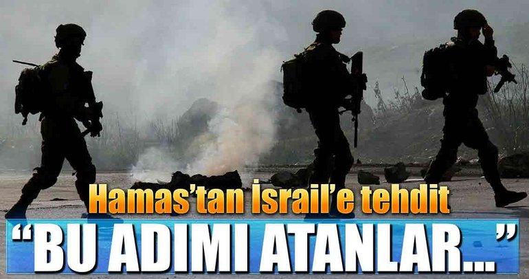 İsrail'in kararına Filistin'den sert tepki geldi