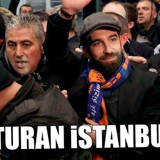 Arda Turan İstanbul'da
