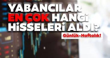 Borsa İstanbul'da günlük-haftalık yabancı payları 12/08/2020