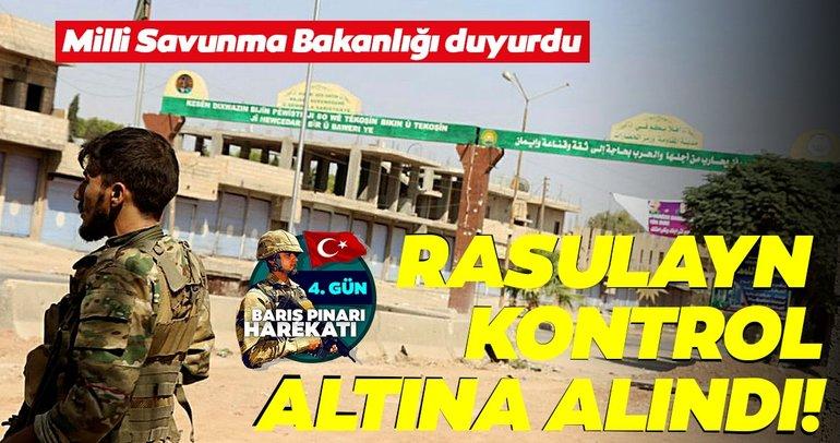Milli Savunma Bakanlığı'ndan SON DAKİKA açıklaması geldi: Rasulayn kontrol altına alındı!