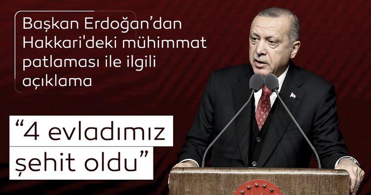 Son dakika: Başkan Erdoğan canlı yayında acı haberi duyurdu