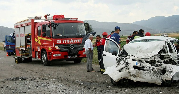 Karı koca aynı kazada hayatını kaybetti!