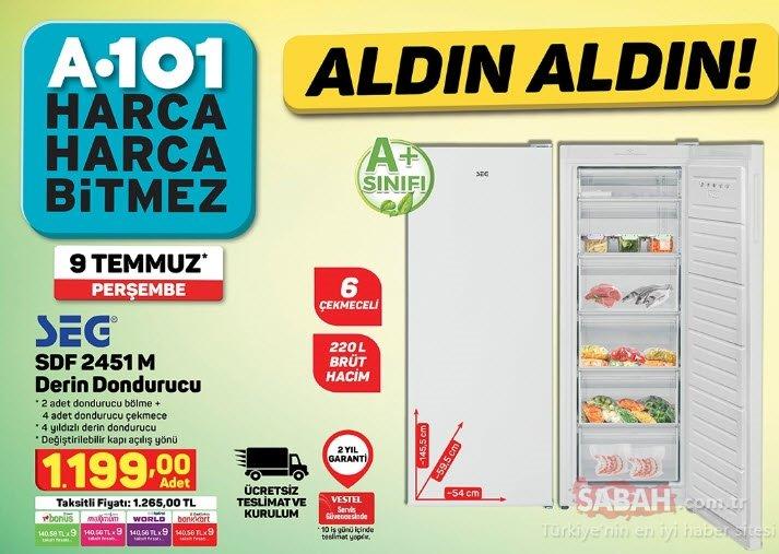 9 Temmuz A101 aktüel ürünler kataloğu ile keyifli alışverişler! A101 aktüel ürünler tam listesi burada!