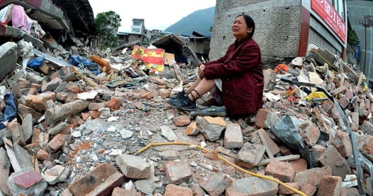 Çin'de 6,5 büyüklüğünde deprem meydana geldi