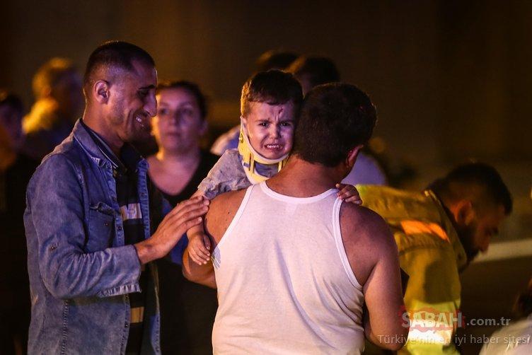 TEM Otoyolu'nda feci kaza: Ölü ve yaralılar var!