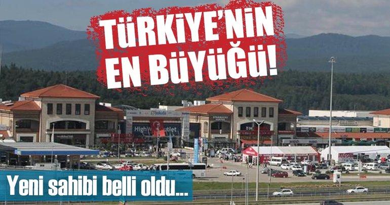 Türkiye'nin en büyük AVM'sinin yeni sahibi belli oldu