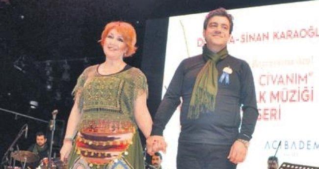 Doktor çiftten, Tıp Bayramı'nda konser