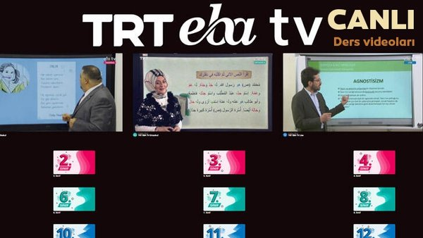 TRT EBA TV izle! (7 Nisan 2020 Salı) 'Uzaktan Eğitim' Ortaokul, İlkokul, Lise dersleri canlı yayın | Video