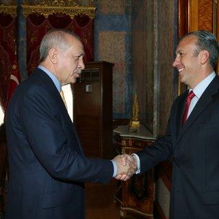 Başkan Erdoğan, Venezuelalı El Aissami'yi kabul etti
