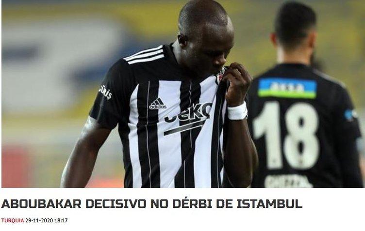 Fenerbahçe - Beşiktaş derbisi dünya basınında!