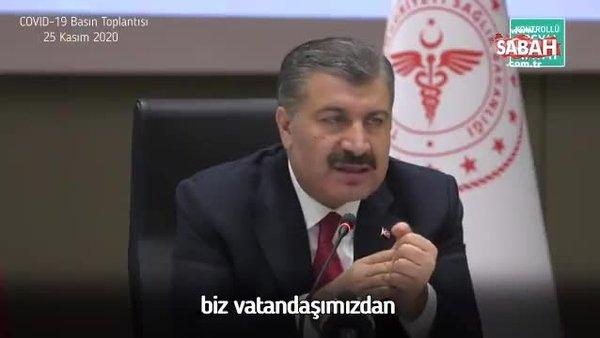 Bakan Fahrettin Koca: Korona virüs aşısı ücretsiz olacak