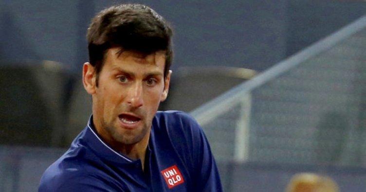 Madrid'de Djokovic maç yapmadan yarı finalde