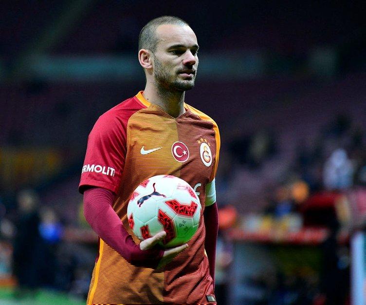 Galatasaray'da Sneijder depremi! Şimdi ne olacak?