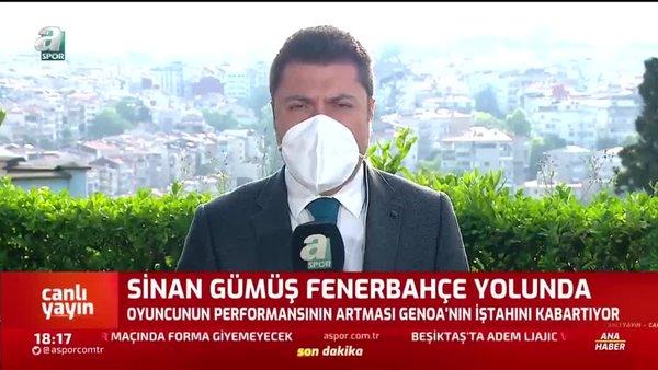 Galatasaray'ın eski futbolcusu Sinan Gümüş F.Bahçe yolunda...
