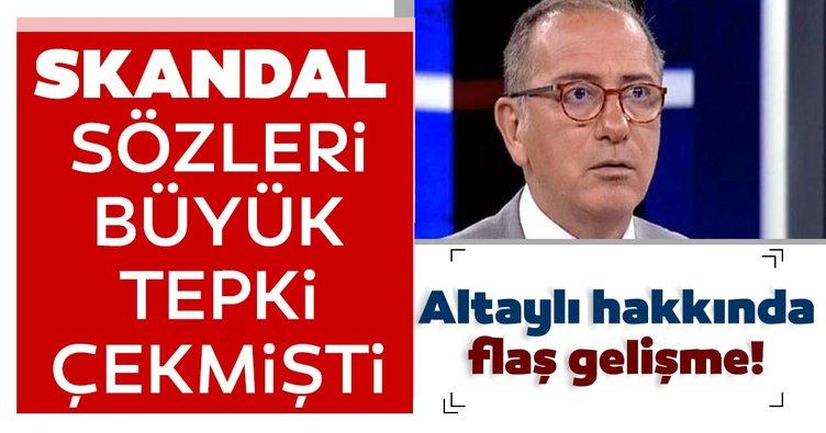 Fatih Altaylı'nın canlı yayındaki ırkçı sözlerine suç duyurusu!