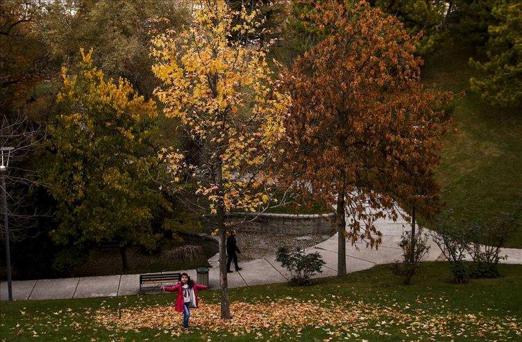 Ankara'da sonbahar