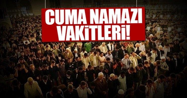 Bugün Cuma namazı saat kaçta kılınacak? - İşte 22 Aralık 2017 İstanbul Cuma namazı saati