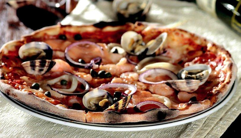 Pizza Di Mare (Deniz Ürünlü Pizza)