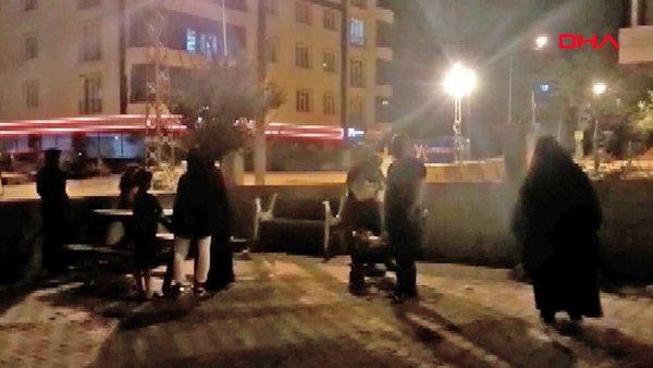 Bitlis Hizan'daki 4.6 büyüklüğündeki deprem sonrası ilk görüntüler   Video