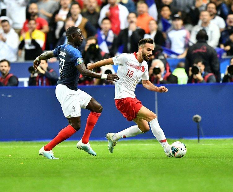 Fransa-Türkiye maçı Fransız basınında
