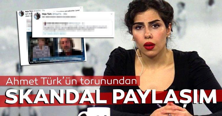Haje Türk'ten skandal paylaşım! Türk milletine hakaret etti...
