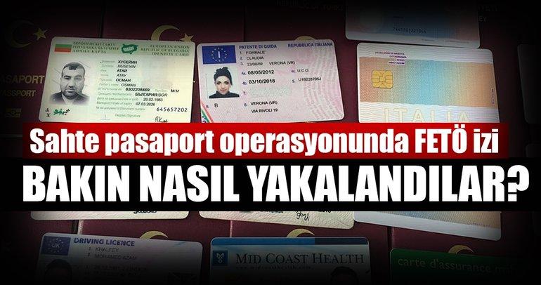 Sahte pasaport operasyonunda FETÖ izi