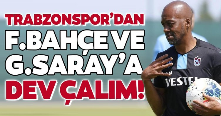 Transferde son dakika: Trabzonspor'dan Fenerbahçe ve Galatasaray'a dev çalım!