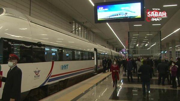 Ankara-Sivas Yüksek Hızlı Tren Hattı Projesi'nde performans testleri başladı | Video