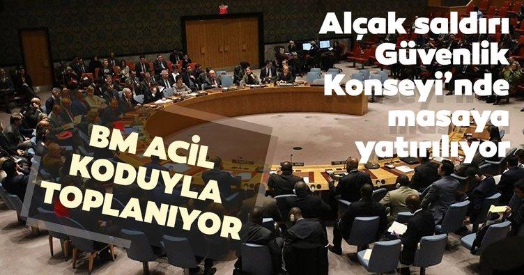 Birleşmiş Milletler Güvenlik Konseyi acil toplanacak